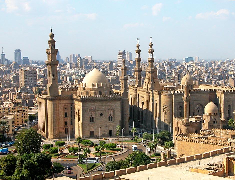 La Mezquita de El Cairo, en Egipto