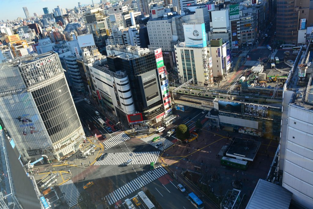 cruce Shibuya Japón