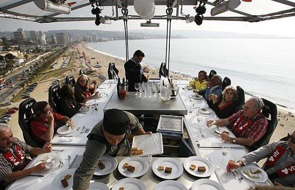 DINNER IN THE SKY RESTAURANTES