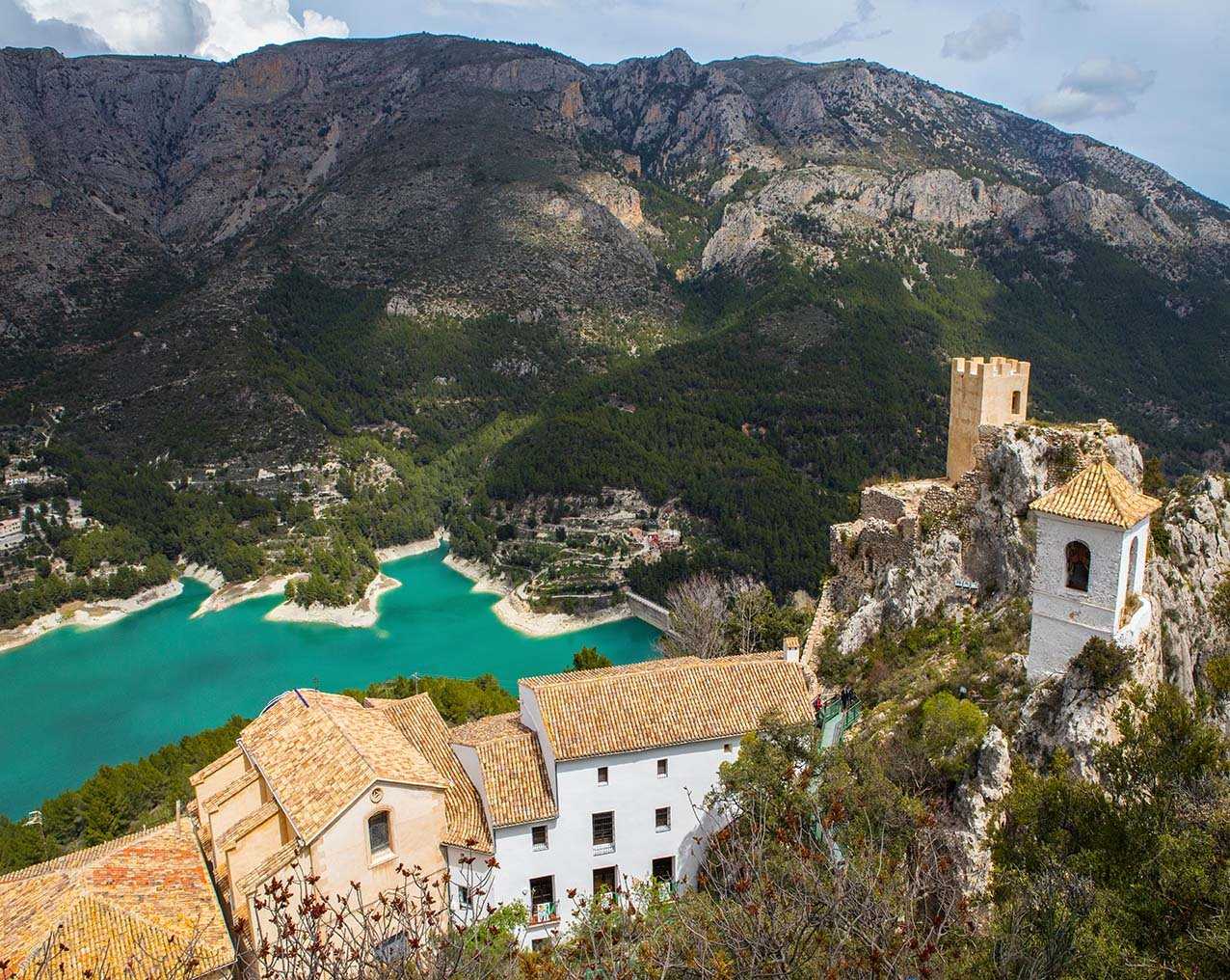 castell de guadalest comunitat de valencia